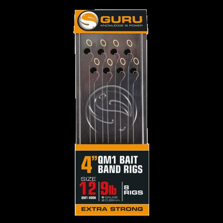 Guru QM1 Bait Bands Ready Rig 4 ''