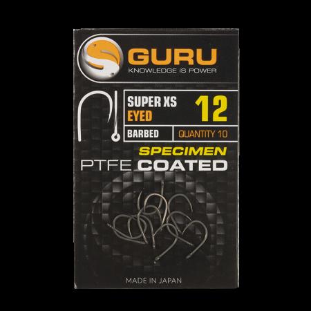 Guru Extra Strong Carp Eyed Hook - Barbed